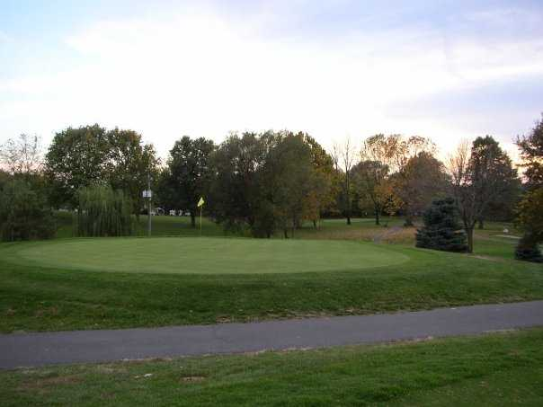 A view of green at Seymour Country Club