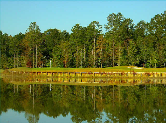 A view of hole #9 at Carolina Colours Golf Club.