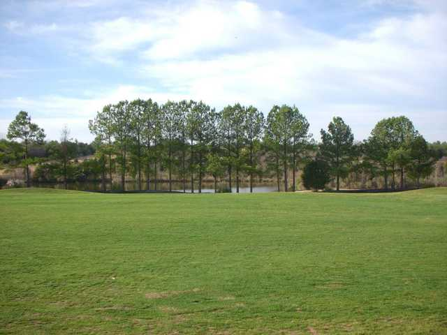 A view of hole #5 at Charles T. Myers Golf Course.