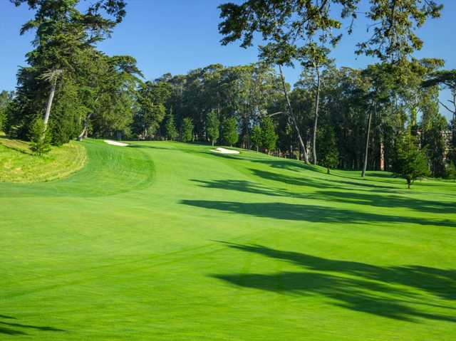 A view from fairway #4 at Lake frm Olympic Club (Lawrence Lambrecht).
