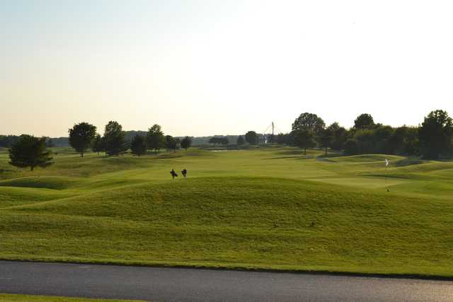 A view of a hole at Wild Quail Golf & Country Club.