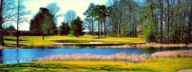 A view from a tee at Wild Quail Golf & Country Club.