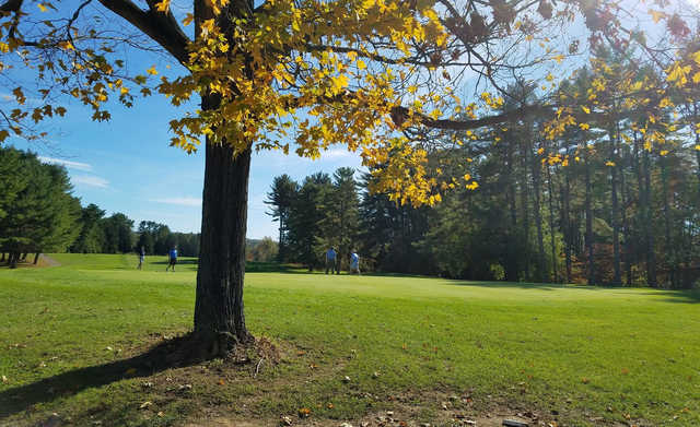 A view of green #5 at Pine Ridge Golf Course.