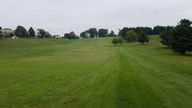 A view of a fairway at Clifton Park Golf Course (Matthew Goldey).