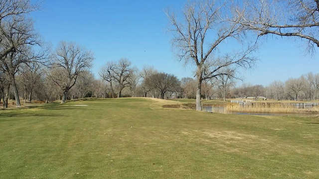 A view from a fairway at Iron Eagle Municipal Golf Course (Andrew Train Lee).
