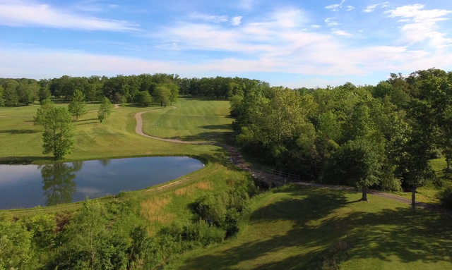 View of the 10th hole at Split Rock Golf Club
