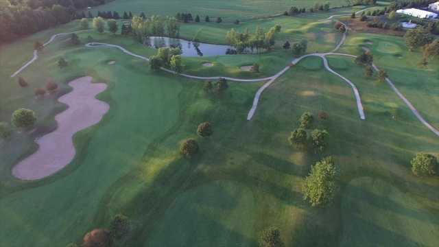 Aerial view from Foxfire Golf Club