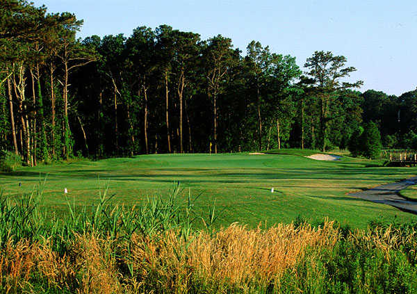 A view of hole #8 at Eagle's Landing