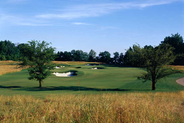 A view of the 7th hole at Dalhousie Golf Club.