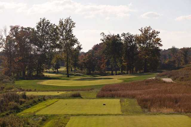 A view from tee #1 at Dalhousie Golf Club.