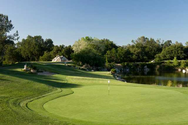 A view of a hole at Turkey Creek Golf Club.