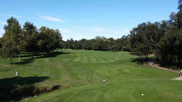 A view from a tee at Turkey Creek Golf Club.