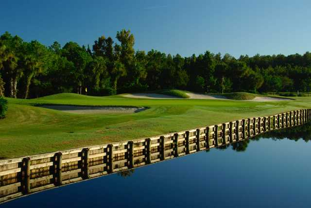 A view of the 3rd hole at Westchase Golf Club.