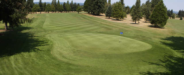 View of the 9th and 18th hole from Sunset Grove Golf