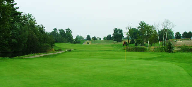 A view of a green at Royal Stouffville Golf Course.