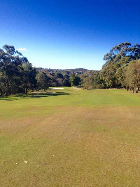 A view from Balgowlah Golf Club