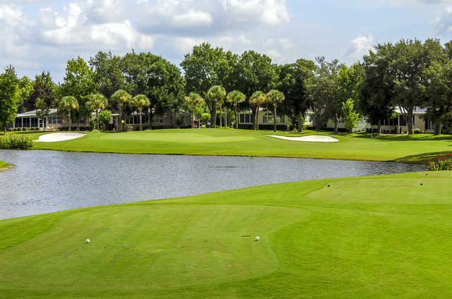 View of the 4th hole at Crane Lakes Golf & Country Club