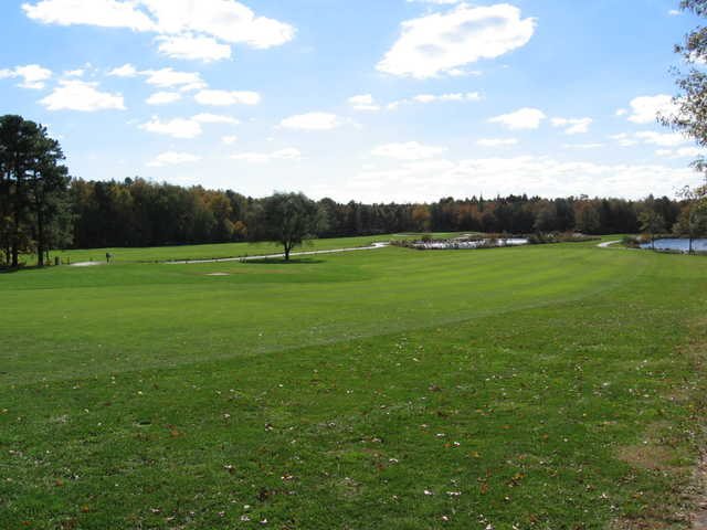 View of the 13th fairway at Cedar Creek Golf Course