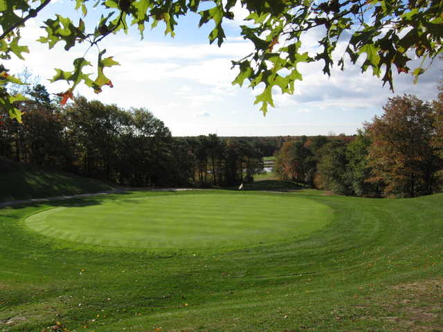 View of the 17th green at Cedar Creek Golf Course