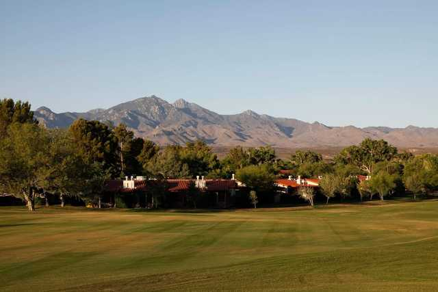 A view from Tubac Golf Resort.