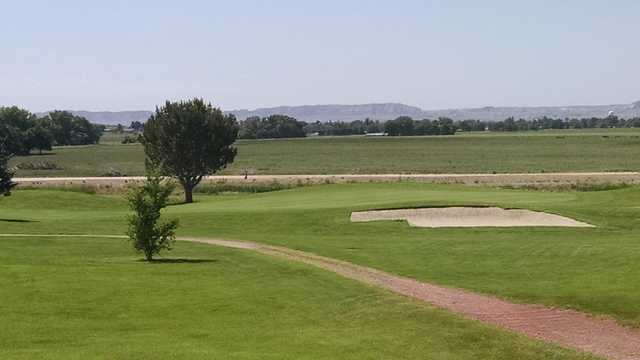 A view from Scenic Knolls Golf Course.