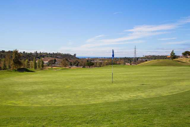 A view of hole #2 from The Crossings At Carlsbad.