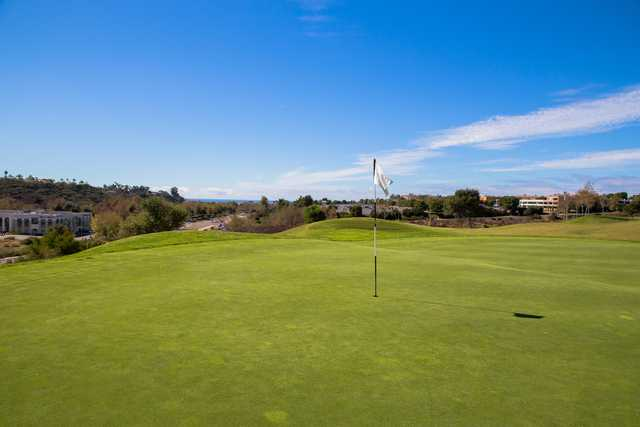 A view of the 1st hole from The Crossings At Carlsbad.
