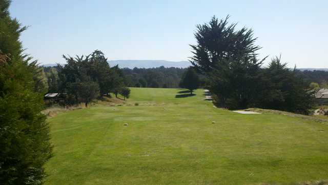 A view from a tee at Cypress Ridge Golf Course.