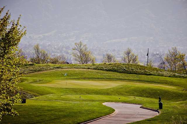 A view of the 13th hole at Dublin Ranch Golf Course.