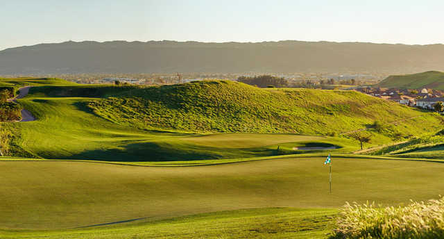 A view of the 8th green at Dublin Ranch Golf Course.