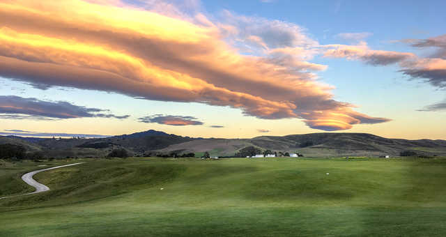 A view from Half Moon Bay Golf Links.
