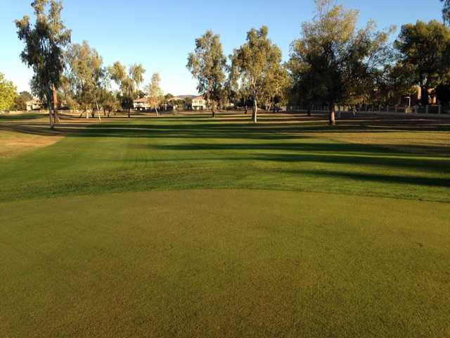A view of a fairway at Palo Verde Golf Course.