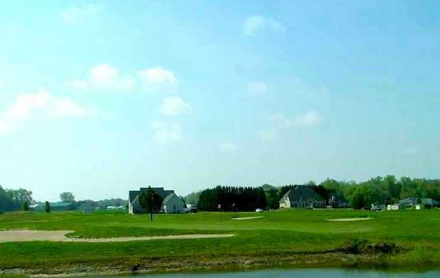 A view of green #4 at Ocean Resorts Golf Club