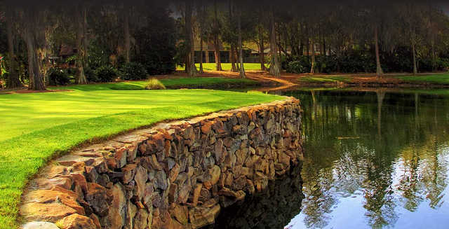 A view from Avila Golf & Country Club.