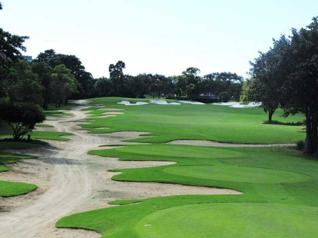 A view from tee #4 at Old Course from Broken Sound Club.