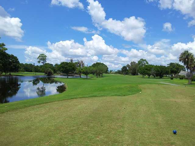 A view from tee #13 at Myerlee Country Club.