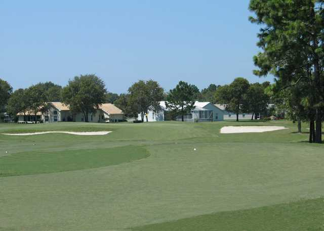 A view of the 6th green at Seven Hills Golfers Club.