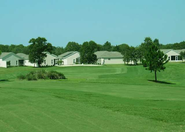 A view of the 16th green at Seven Hills Golfers Club.