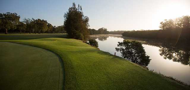 A view from Brighton Lakes Recreation & Golf Club.