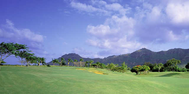 A view from Puakea Golf Course.