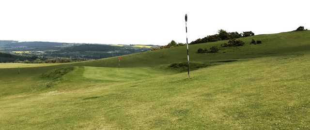 A view from Cleeve Hill Golf Club