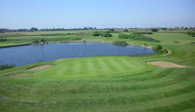 View of the 7th hole at Heacham Manor Hotel
