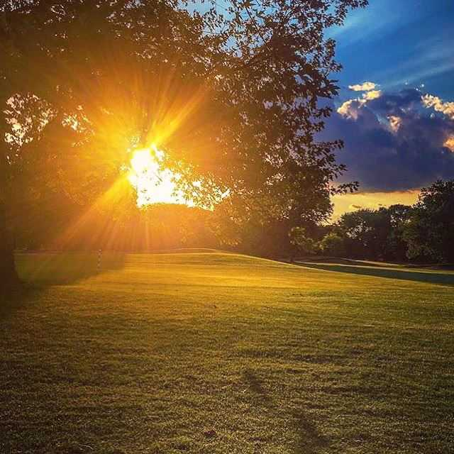 A view from Robert A. Black Golf Club.