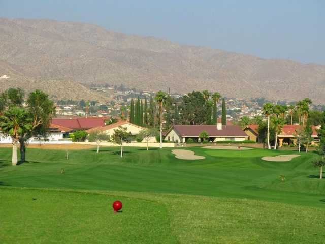 A view of the 13th hole at Mission Lakes Country Club