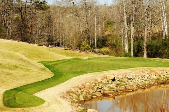 A view of the 2nd hole at Cateechee.