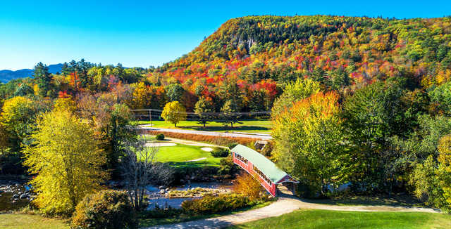 A fall day view from Wentworth Golf Club.