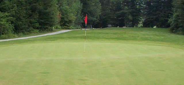 A view of a green at Enosburg Falls Country Club.
