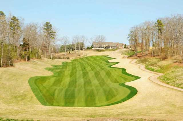 A view of hole #1 at Cateechee.