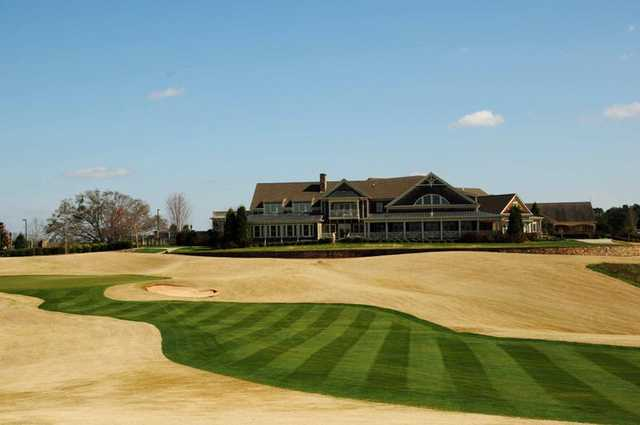 A view of the clubhouse at Cateechee.