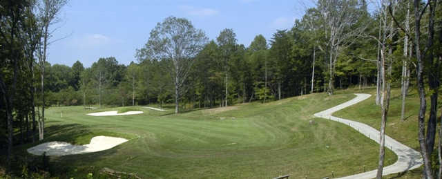 A view from Mineral Mound State Park Golf Course.